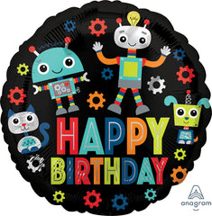 Happy Birthday Robots