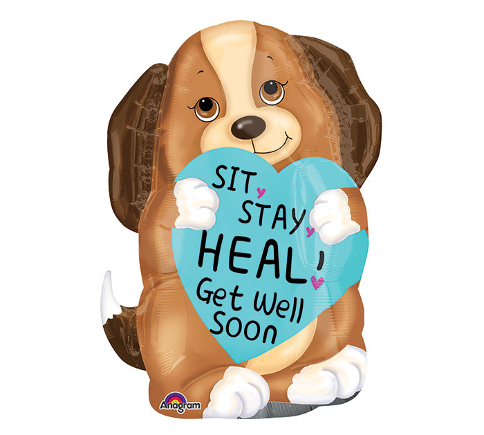 Jr. Shape Sit, Stay, Heal Puppy Balloon