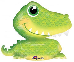3D Alligator Supershape Balloon