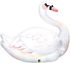 Graceful Swan Supershape Balloon