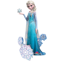 Elsa The Snow Queen Air Walker Foil Balloon