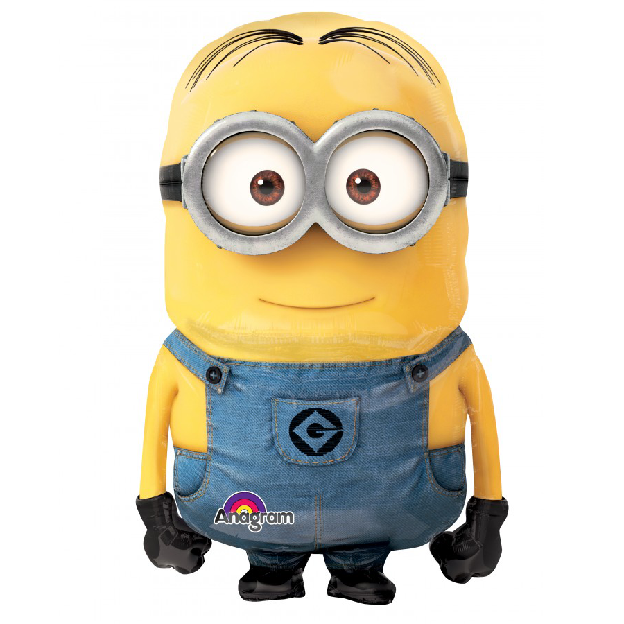 Despicable Me Minion Air Walker Foil Balloon