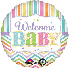 Bright Welcome Baby Balloon
