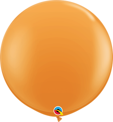 Orange 3ft Round Balloons