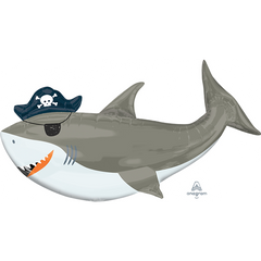 Ahoy Shark Supershape Balloon