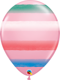 "Assorted Sprays Pink 11"" Balloons"