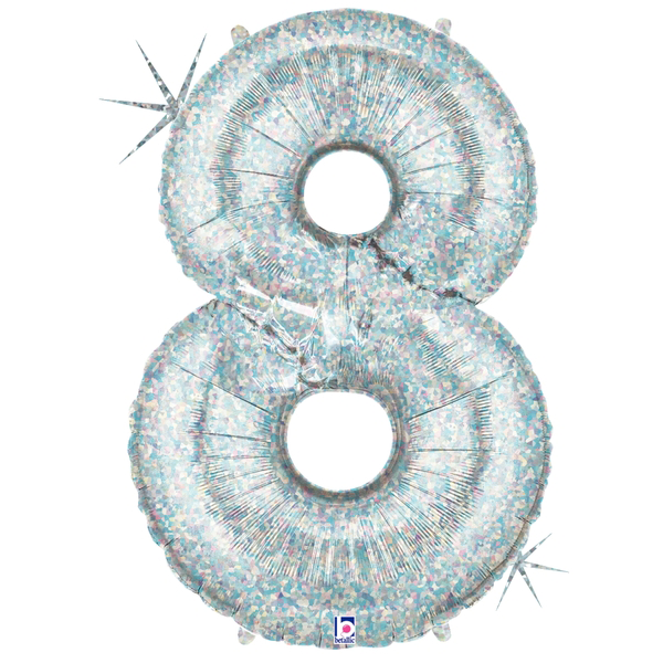 Holographic Number 8 Megaloon Balloon Numbers