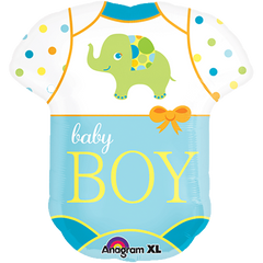 Baby Boy Bodysuit Balloon