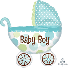 Baby Buggy Boy Balloon
