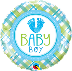 Baby Boy Feet Balloon