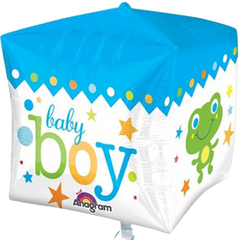 Baby Boy Cube Balloon