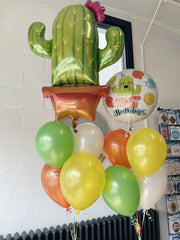 Cactus Party Happy Birthday Balloon Package
