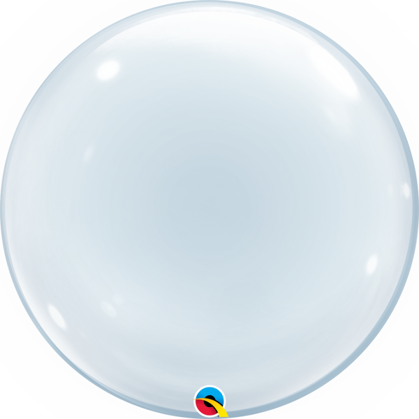 Clear Deco Bubble Balloon