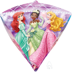 Disney Multi-Princess Diamond Shape Balloon
