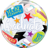 Graduation Accolades Bubble Balloon