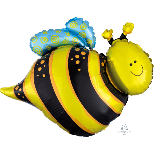 Happy Bee Supershape Balloon