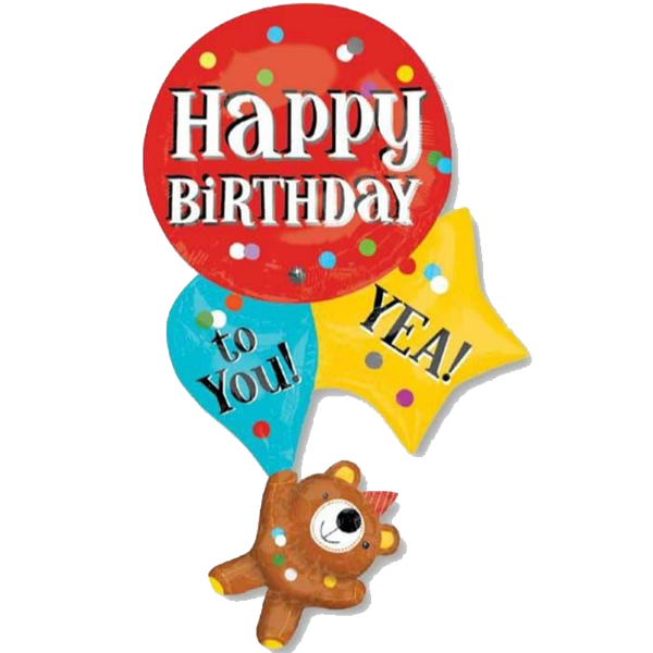 Happy Birthday to You! Yea! Supershape Balloon