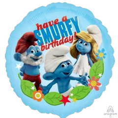 Have a Smurfy Birthday Balloon