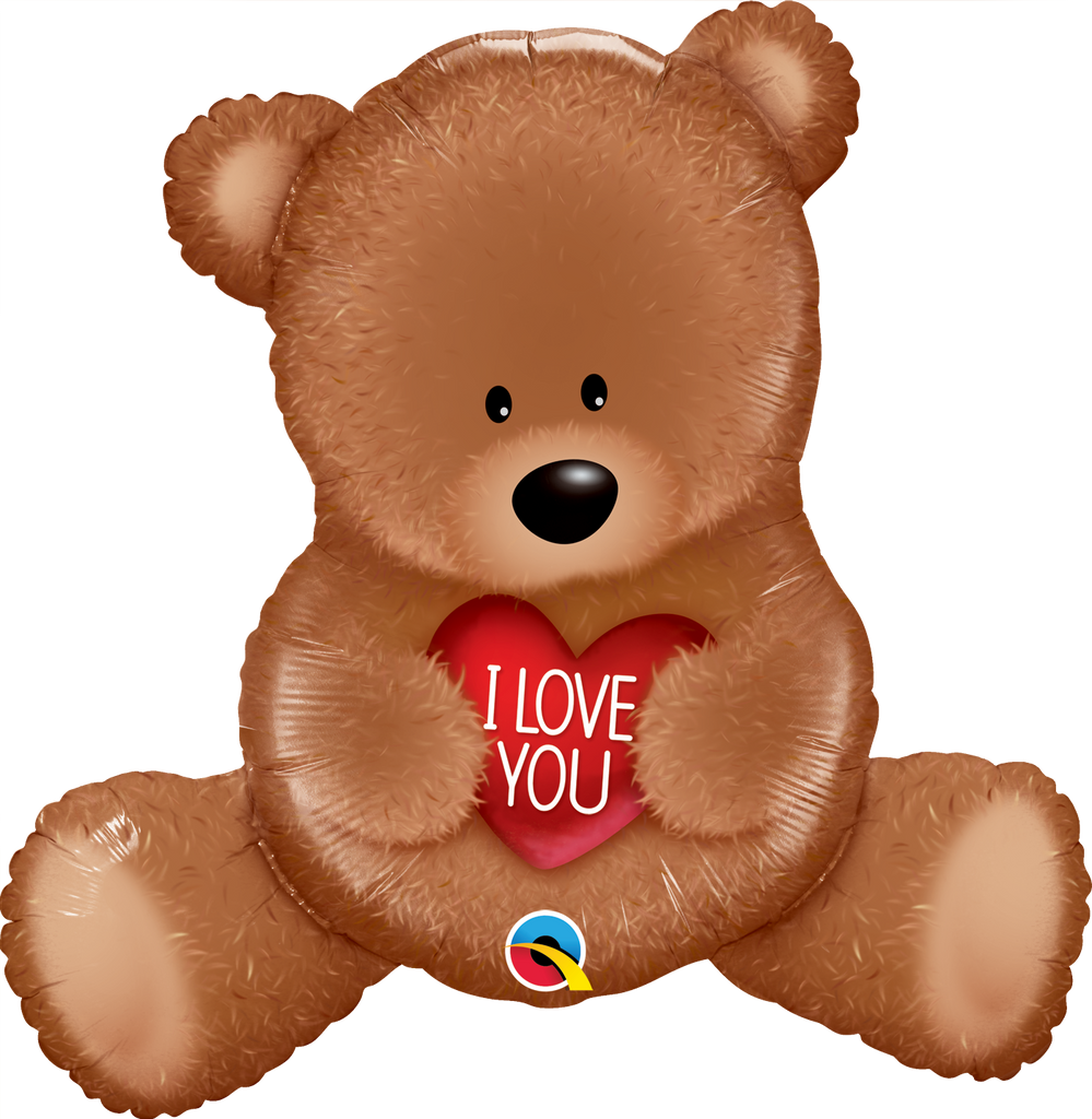 """I Love You"" Teddy Bear Balloon"