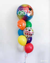Colorful Grad Balloon Package
