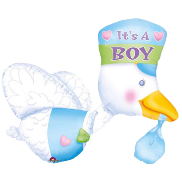It's A Boy Baby Duck Balloon