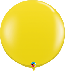 Jewel Citrine Yellow 3ft. Round Balloons