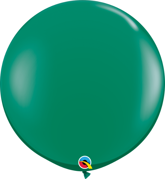 Jewel Emerald Green 3ft. Round Balloons