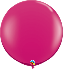 Jewel Magenta 3ft. Round Balloons