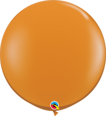 Jewel Mandarin Orange 3ft. Round Balloons