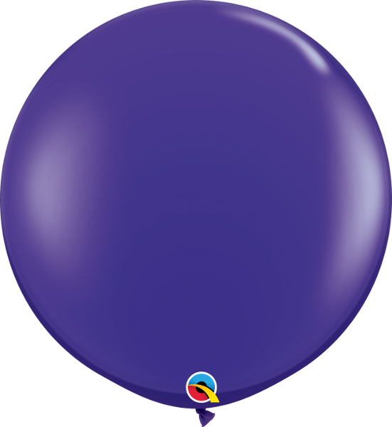 Jewel Quartz Purple 3ft. Round Balloons