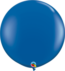 Jewel Sapphire Blue 3ft. Round Balloons
