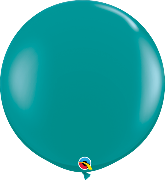 Jewel Teal 3ft Round Balloons