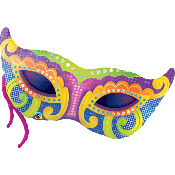 Mardi Gras Supershape Balloon