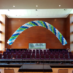 Spiral 40ft Balloon Arch