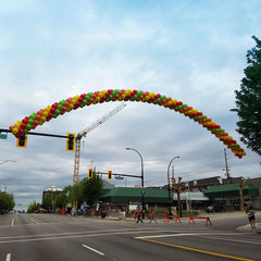 Spiral 50ft Balloon Arch