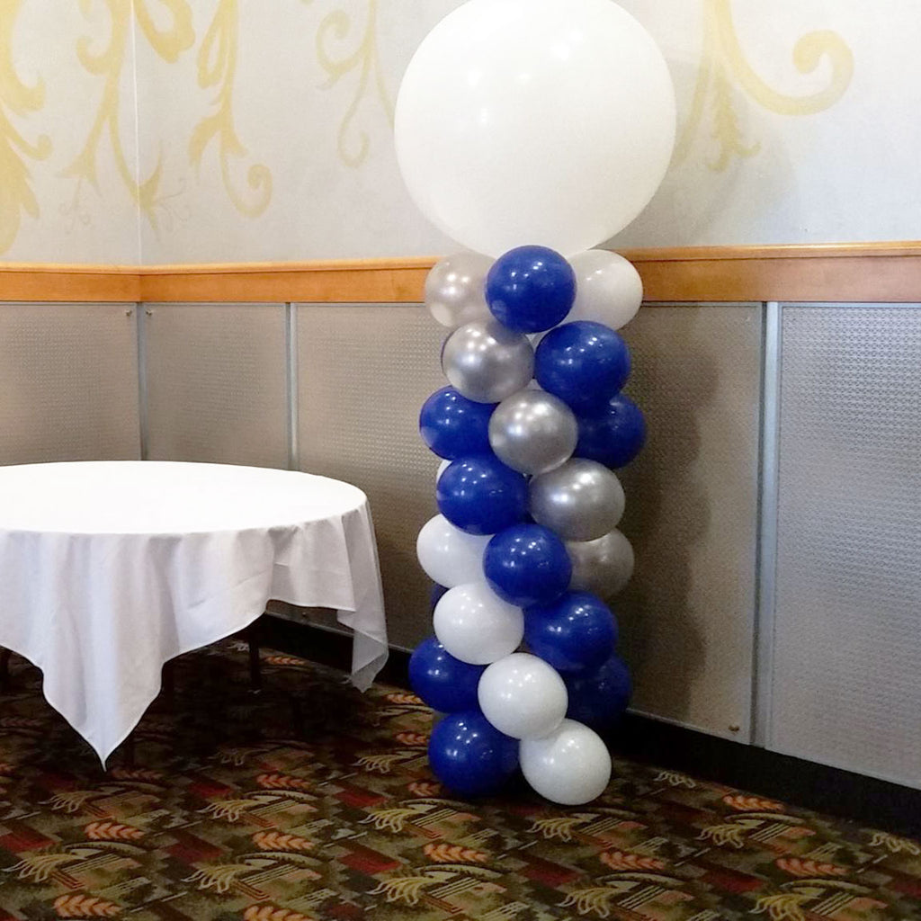 Spiral 7ft Indoor Balloon Column