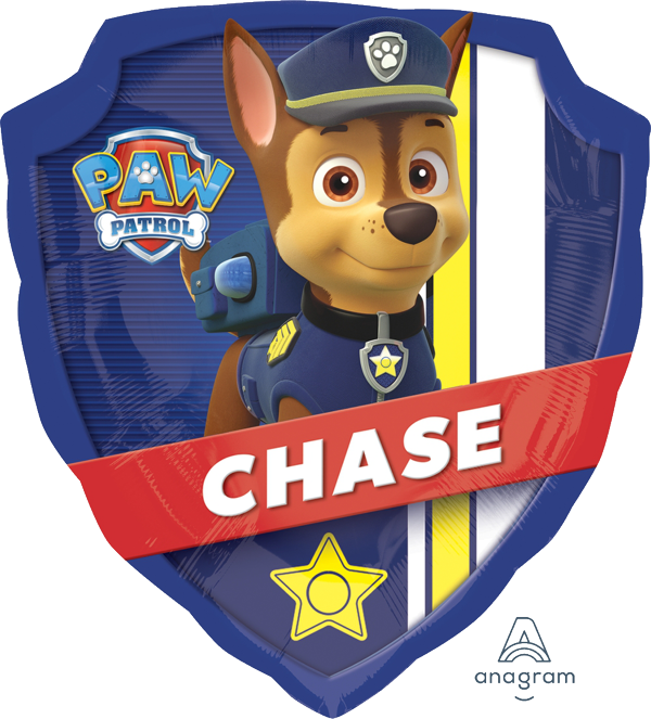 Paw Patrol Chase Supershape Balloon