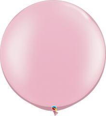 Pearl Pink 3ft. Round Balloons