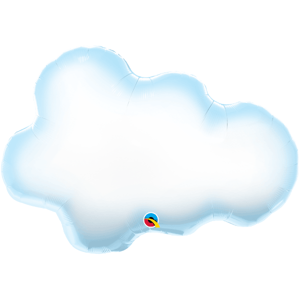Puffy Cloud Supershape Balloon