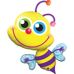 Shape Foil Beaming Bee Balloon