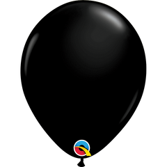 Fashion Onyx Black Balloons
