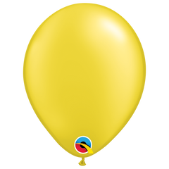 Pearlescent Citrine Yellow Balloons