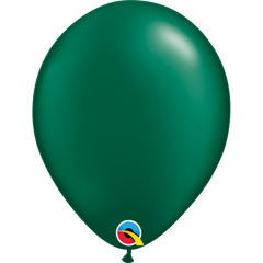Pearl Forest Green Balloons
