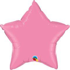 "20"" Pink Star Foil Balloon"