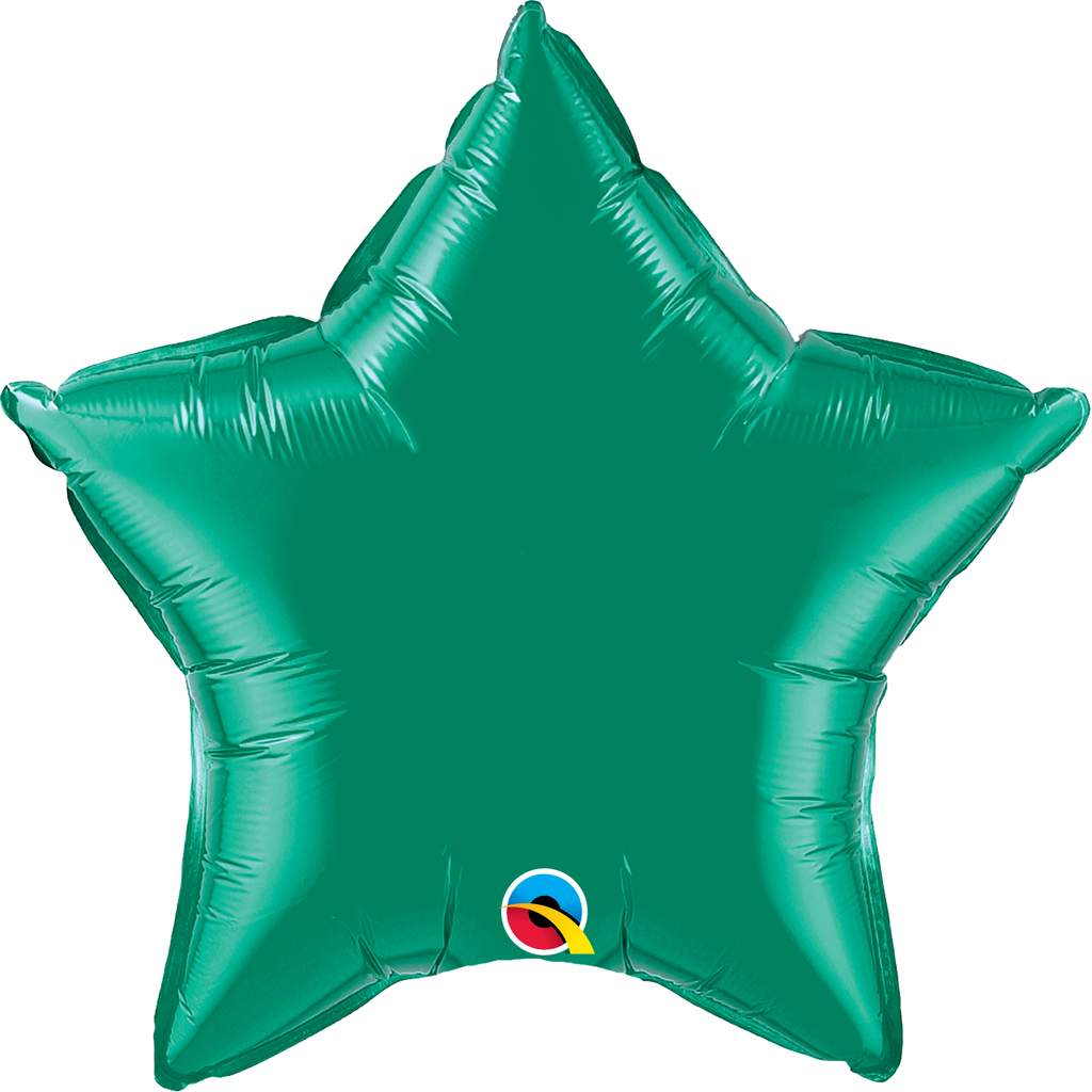 "20"" Green Star Foil Balloon"