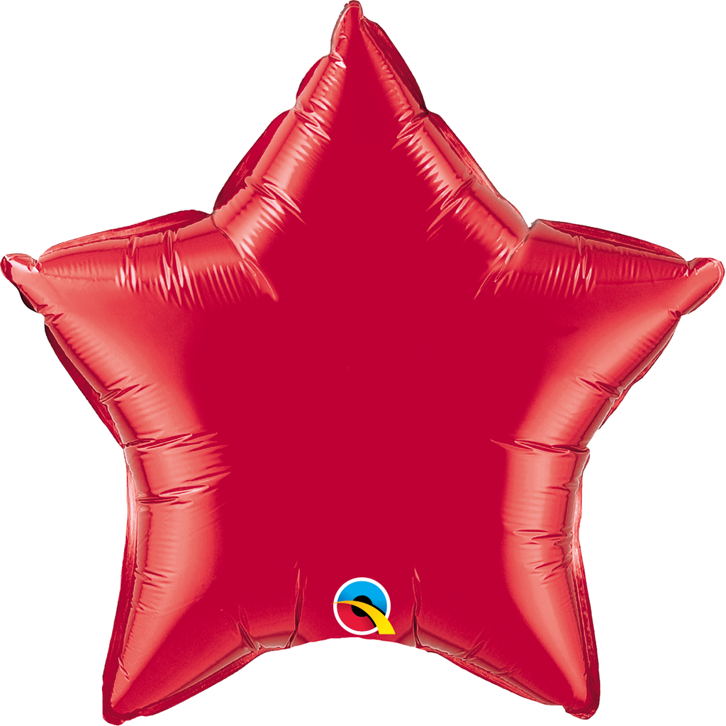 "20"" Red Star Foil Balloon"