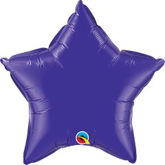 "20"" Purple Star Foil Balloon"