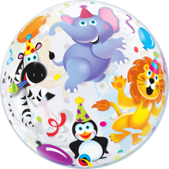 Party Animals Bubble Balloon