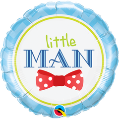 Little Man Bow-Tie Balloon