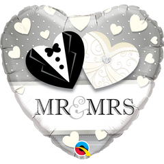 Mr. & Mrs. Wedding Balloon